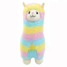 30/45cm Rainbow Alpacasso Soft Plush Stuffed Animals Toys Kawaii Alpaca Lama Pacos Kids Toys Baby Dolls Brinquedos Gifts WW376 недорого