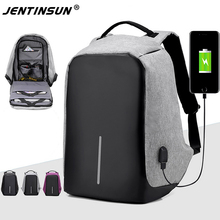 """2017 Anti-thief USB Charging 15"""" Laptop Backpack for Women Men Multifunction Travel Backpack School Backpack Bag for Teenagers"""