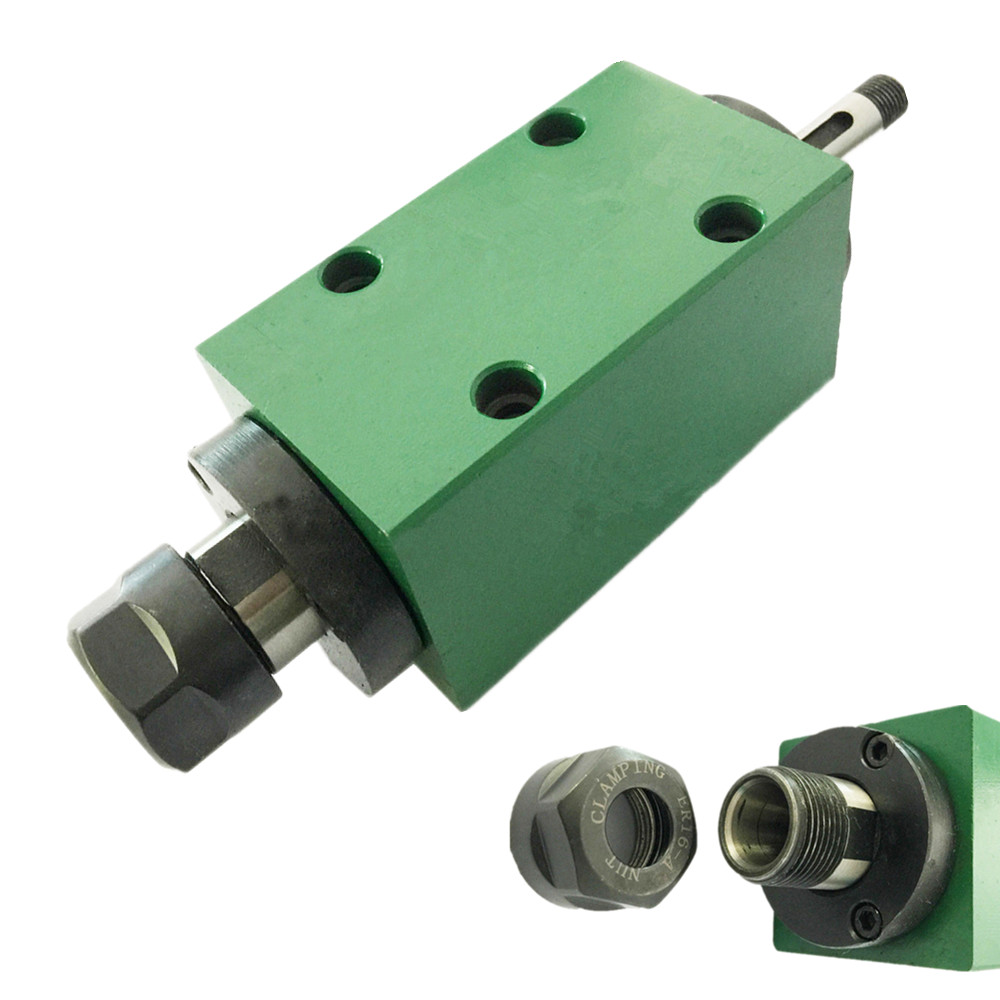 1hp Power Head 750W 0.75KW 4pcs Bearings Cutting/Boring/Milling/Drilling Machine Tool Spindle Rotating Speed Max. 3000rpm.