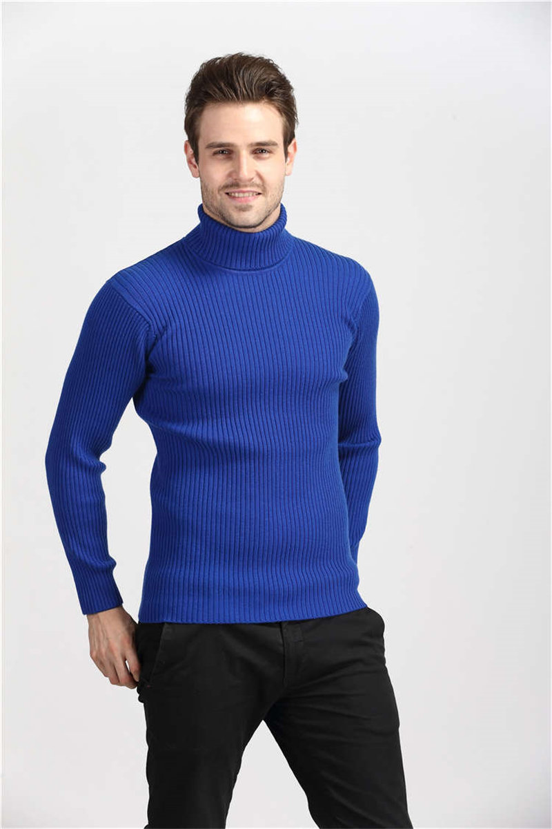 COODRONY Winter Thick Warm Cashmere Sweater Men Turtleneck Mens Sweaters Slim Fit Pullover Men Classic Wool Knitwear Pull Homme 12