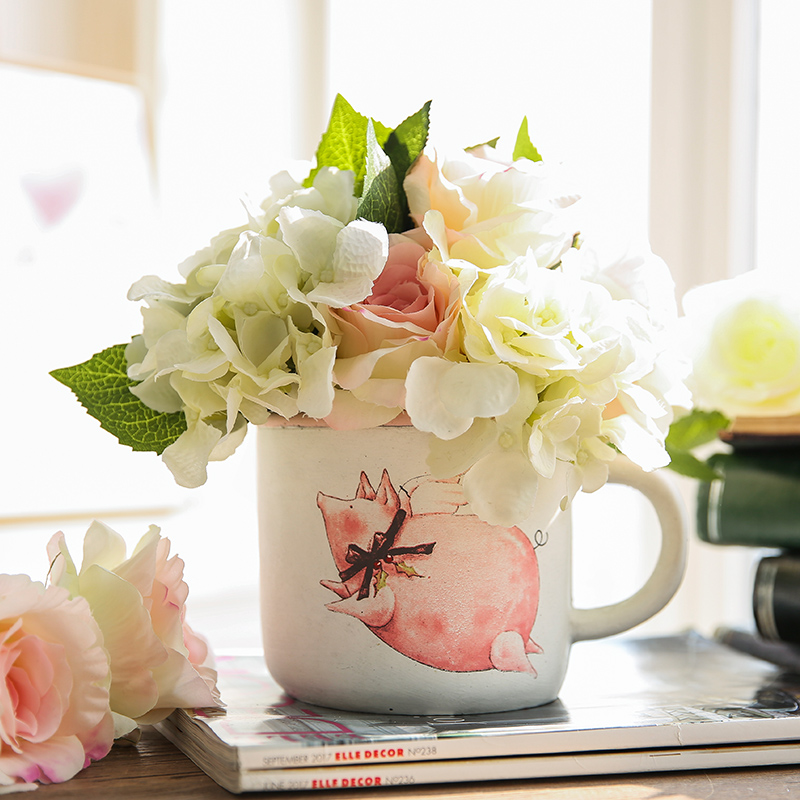 15 Pretty Ways To Decorate A Vase: Aliexpress.com : Buy Vase For Flowers Shabby Chic Home