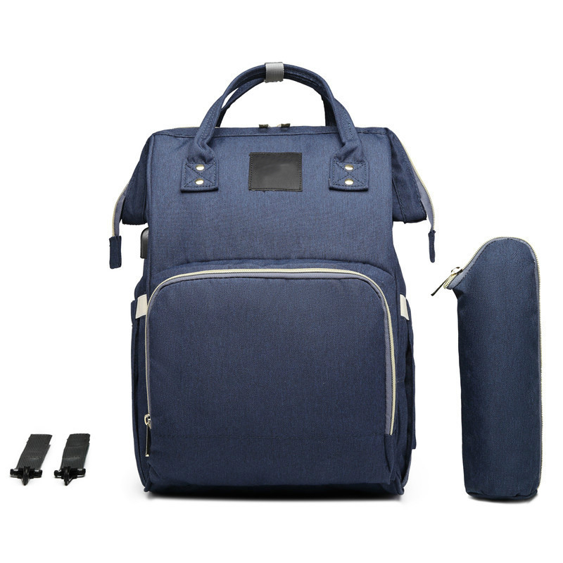 Mummy Bag Multi-Function Large-Capacity Mummy Bag Backpack Bag Mother'S New Upgrade Maternal And Child Bag Waterproof Backpack