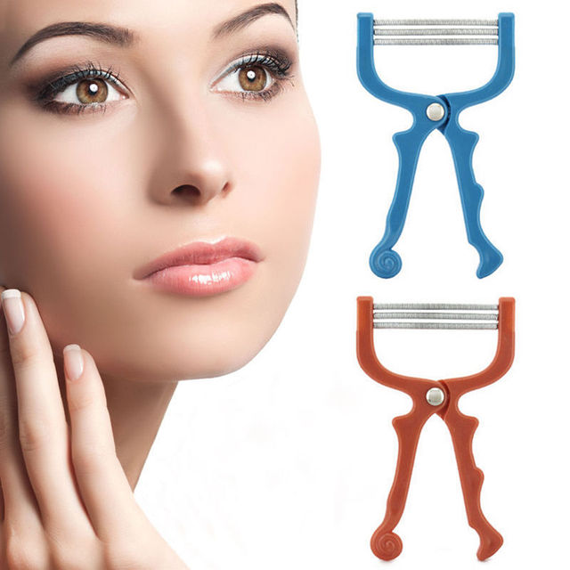 Popular Women Girl Facial Hair Removal Threading Epilator Face Beauty Tool 2