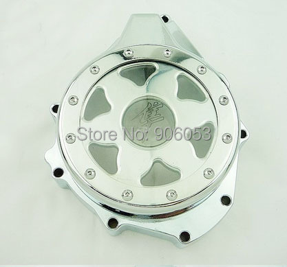 motorcycle parts Billet Engine Stator cover see through for 1999-2015 Suzuki Hayabusa GSX1300R