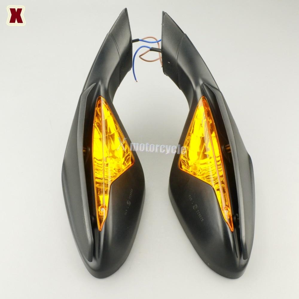 Для MV Agusta F3 800/675 2012-2014 мотоциклетные боковые зеркала заднего вида с поворотниками мигалка