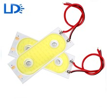 5 יח'\סט LED COB DRL בשעות היום ריצת אור עמיד למים DC12V חיצוני סטיילינג המכונית Led אור יכול להיות אורות חיצוניים(China (Mainland))