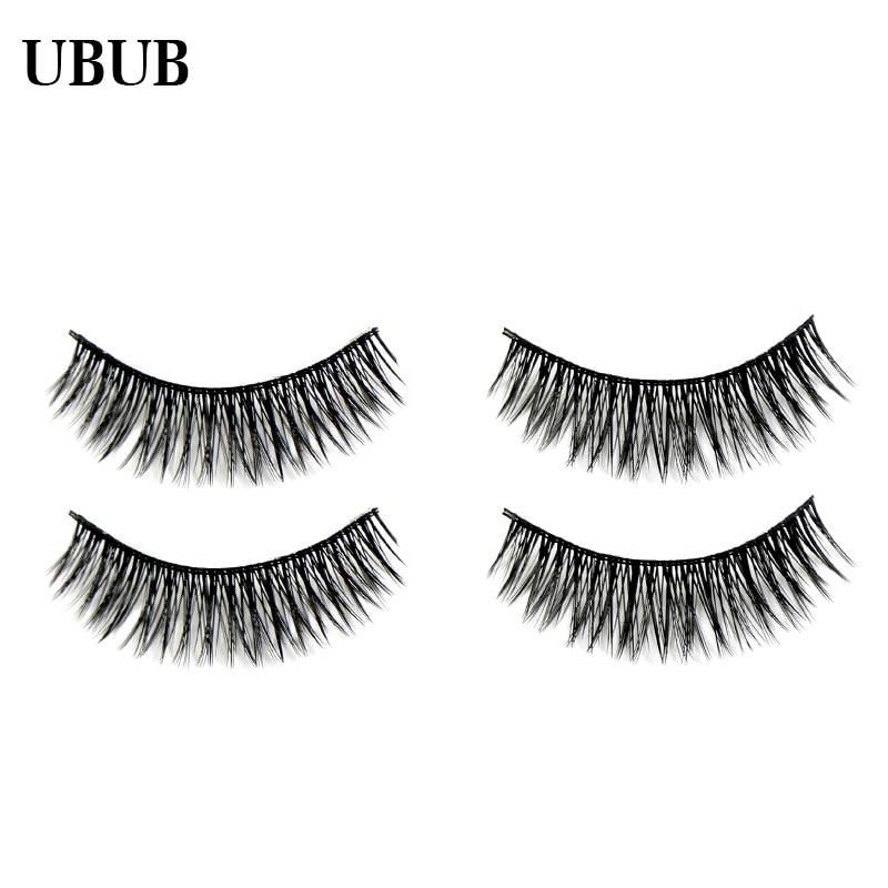 3 Pairs Professional Hand Made Soft Eyelash Charming Natural Long False Eyelashes Extensions Sexy Eye lashes Makeup Beauty Tools