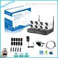 Kits NVR 8ch HD P2P Sem Fio Plug And Play Sistema de CFTV NVR Kit de Vigilância 960 P HD sem fio WIFI IP Câmera de Segurança Ao Ar Livre