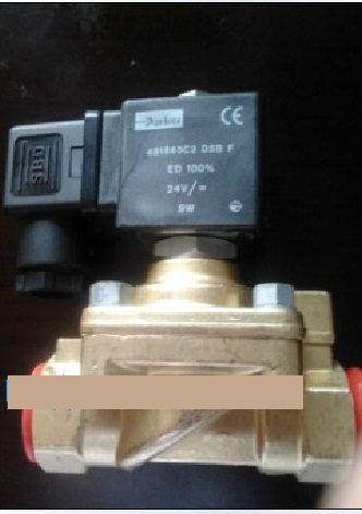 Parker PARKER high pressure solenoid valve blowing machine with the United States 321H36  481865A5 AC110V  3/4 oven parts rice cooker machine assemble valve with 3v solenoid valve