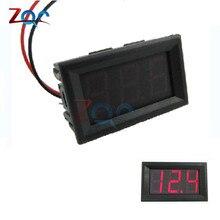 2 Wires 0.56 inch Digital Voltmeter 4.5-30V/ DC4.5-30V Blue LED Vehicles Motor Volt Voltage Panel Meter LED Voltmeter Tools