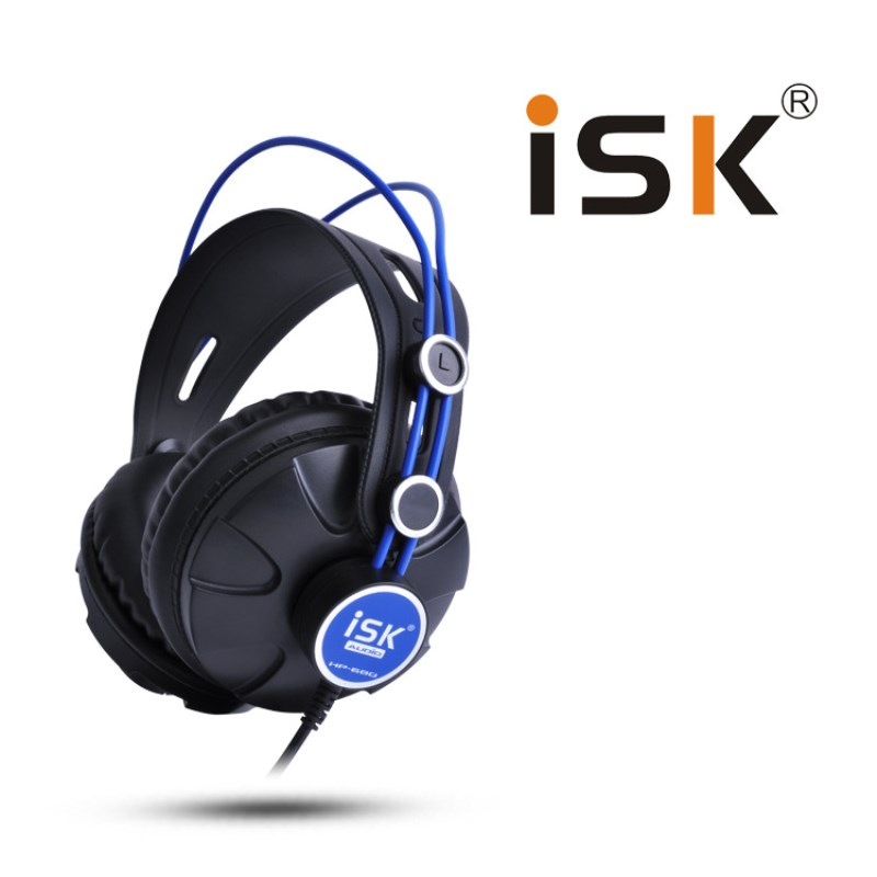 ISK HP-680 Stereo Headphones 3.5mm Jack Computer Phone Headband Earphone Dynamic Studio Monitor Recording Headphone DJ Headset радиотелефон panasonic kx tg1612 ru1 grey white