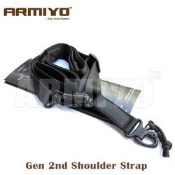 Armiyo tático 2 ponto multi rifle missão estilingue arma alça de ombro caça bolsas acessórios