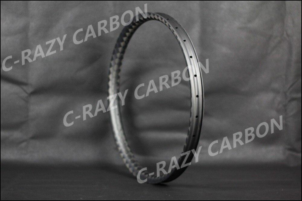 Nouveau PLUS 45mm largeur Asymétrique SUIS/ENDURO VTT carbone jantes 27.5er Hookless (650b) 29er Tubeless Compatible