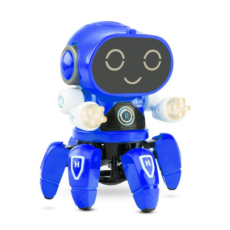 Cool Dancing Walking Toys For Boys Robot Kids Toddler Musical for Birthday Gift