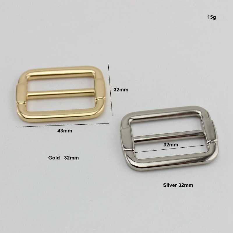 50 шт. 10 шт. 3 цвета 32 мм сумки ручной работы ремень сумки плечевой ремень Регулируемый квадратный край пряжка, высокое качество слайдер