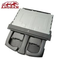 Aroham NEW Rear Armrest Fold Cup Holder For AUDI A4 A5 A6 Q5 VW Jetta Golf MK5 Passat B6 OE:8P0 885 995 B/8P0885995B/P0885995B6P