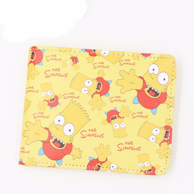 New The Simpsons Wallets For Kids
