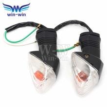 2 pcs Motorcycle Turn Signals Light For Kawasaki z750 z1000 Z-750 Z-1000 Not LED Lights motocicleta Indicators Flasher Orange