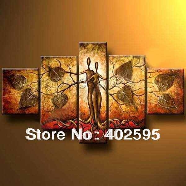 from artist T183 Art handmade abstract oil painting on canvas modern 100% handmade original directly