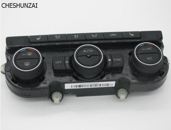 climatronic air condition interruttore sul pannello di controllo ac riscaldamento sedile for vw PQ 35 new