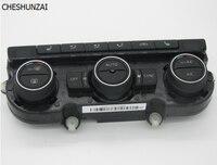 Chesunzai climatronic تكييف interruttore sul pannello دي controllo ac riscaldamento sedile for vw تيغوان الجديدة cc غولف mk6