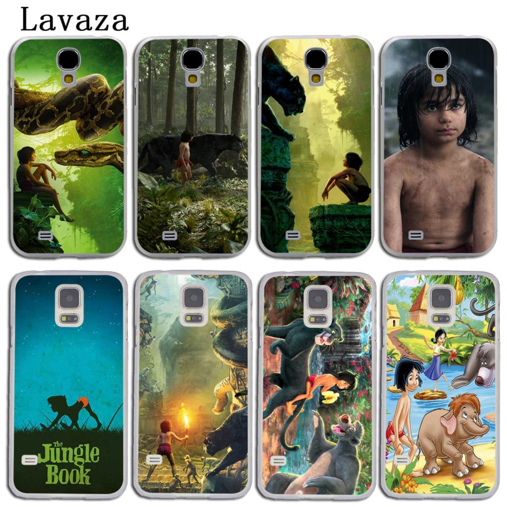 Lavaza The Jungle Book Hard Skin Phone Shell Case for Samsung Galaxy S7 S6 Edge S3 S4 S5 & Mini S8 S9 Plus Cover