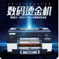 DC 300TJ PROA3 Pro Digital foil printer Digital flatbed printer hot stamping machine Digital printer