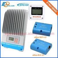 ET6415BND 60A интеллектуальные солнечное зарядное устройство контроллера mppt 12 В/24 В/36 В/48 В Авто типа wi Fi bluetooth Функция MT50 метр дистанционного
