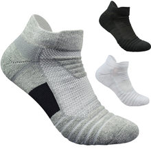 4640b456d44 Men Socks High Quality Cotton Boat Towel Bottom Short Tube Concise Socks  Men Cycling Happy Pack For Flats Boys Low Cut