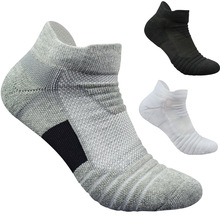 Men Socks High Quality Cotton Boat Towel Bottom Short Tube Concise Socks Men Cycling Happy Pack