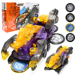 Image 1 - Newest Screechers Wild Multiple Chip Capture Wafer 360 degree Flipping Deformation Action Figures Transformation Car Vehicle Toy