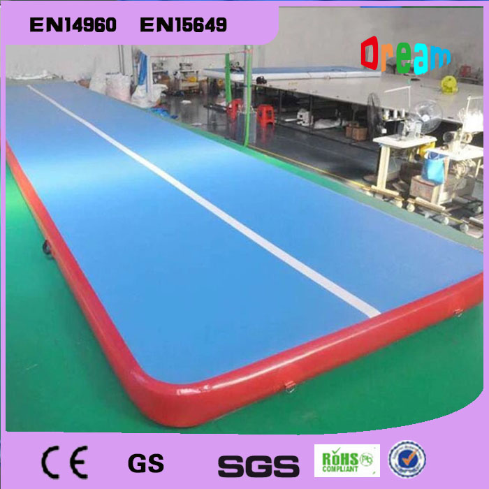 Free Shipping Air Track 7*1*0.2m Inflatable Gym Mat Gymnastics Inflatable Air Track Tumbling Mat Gym AirTrack Free a Pump