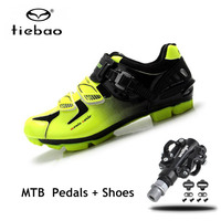 Tiebao Pro cycling shoes mtb spd Pedals mountain bike men women zapatillas ciclismo Self locking Athletic bicycle Shoes sneakers
