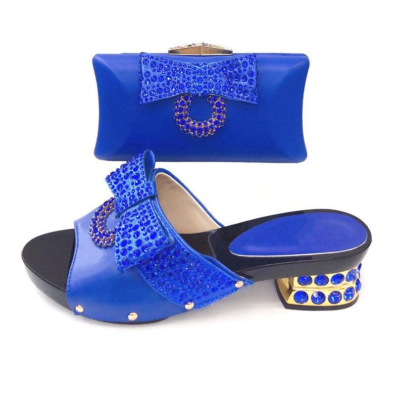 Fashion new arrival african aso ebi shoes bag  shoes matching bag set royal blue italian shoes and bag matching set SB8353-3Fashion new arrival african aso ebi shoes bag  shoes matching bag set royal blue italian shoes and bag matching set SB8353-3