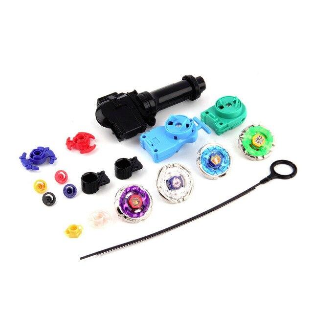 1 Компл. Металла 4D Быстрота Игрушки Волчки Launcher Grip Набор Детей Подарочные Новый Новый Горячий!