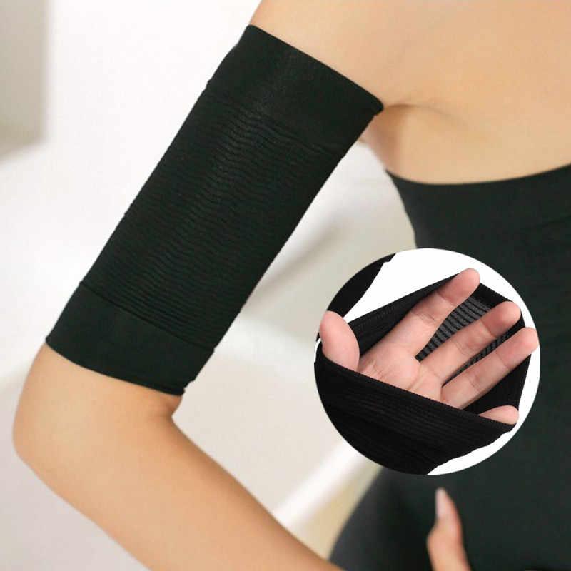 Cara Beleza da Perda De Peso Magro Calorias Off Slimming Arm Shaper Massageador Queima de Gordura Perda de Peso sauna Emagrecimento Wraps Braço Manga