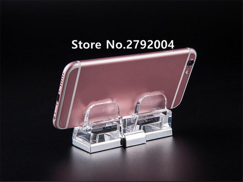 10 pçs lote acrílico telefone celular visor