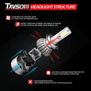 Image 2 - H1 H3 H7 LED Headlight Bulb Car Light H13 H27 880 5202 9004 9007 hb4 9006 9005 hb3 Lamp Luces Led h4 para Auto Fog H11 6000K 12V