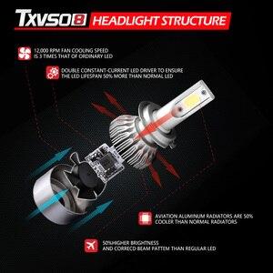 Image 2 - H1 H3 H7 bombilla de faro LED luz del coche H13 H27 880, 5202, 9004, 9007 hb4 9006 9005 hb3 lámpara de Luces Led h4 para Auto niebla H11 6000K 12V