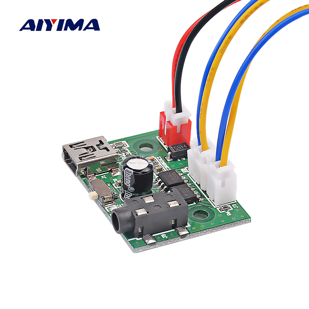 Aiyima Mini 8002 Amplifier Board 3w2 Stereo Class Ab Audio Short Circuit Protecting A Electrical Engineering Module 5v Usb Power Supply In From Consumer Electronics On