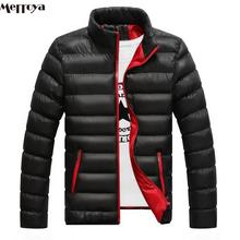Merroya Winter Men's Down Coat Thickening youth coat Male Padded Parka Jacket M-2XL Slim Fit
