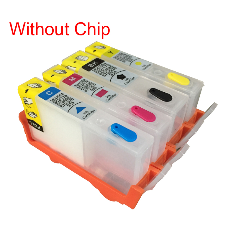 Vilaxh <font><b>Refillable</b></font> Ink cartridges For <font><b>HP</b></font> 902 904 905 for <font><b>HP</b></font> OfficeJet 6950 6956 for <font><b>HP</b></font> OfficeJe t Pro 6960 6970 image