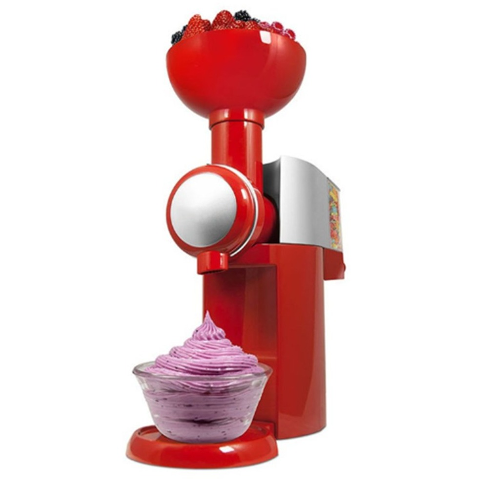 220V /110V Automatic Frozen Fruit Dessert Machine Fruit Ice Cream Machine Maker Milkshake Machine Freezer Slush Machine