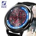 Xingyunshi LED Luxo Women Watch Ladies relógios de Pulso Digitais À Prova D' Água Relogio feminino Montre Femme Reloj Mujer Mujer