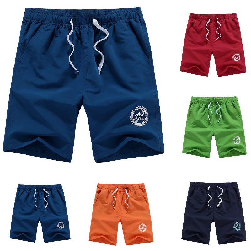 Men Plus Size Beach Shorts Big Board Swimming Surfing&Beach Short Quick Drying Sport Pants Running