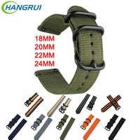 18mm 20mm 22mm 24mm Nylon Strap Für Amazfit Bip Amazfit Stratos Quick Release Uhr Band Für garmin Vivoactive3 Huawi Uhr GT
