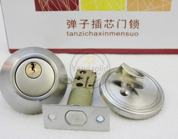 Stainless Steel Tubular Lever Door Locks / DeadBolt Invisible Locks