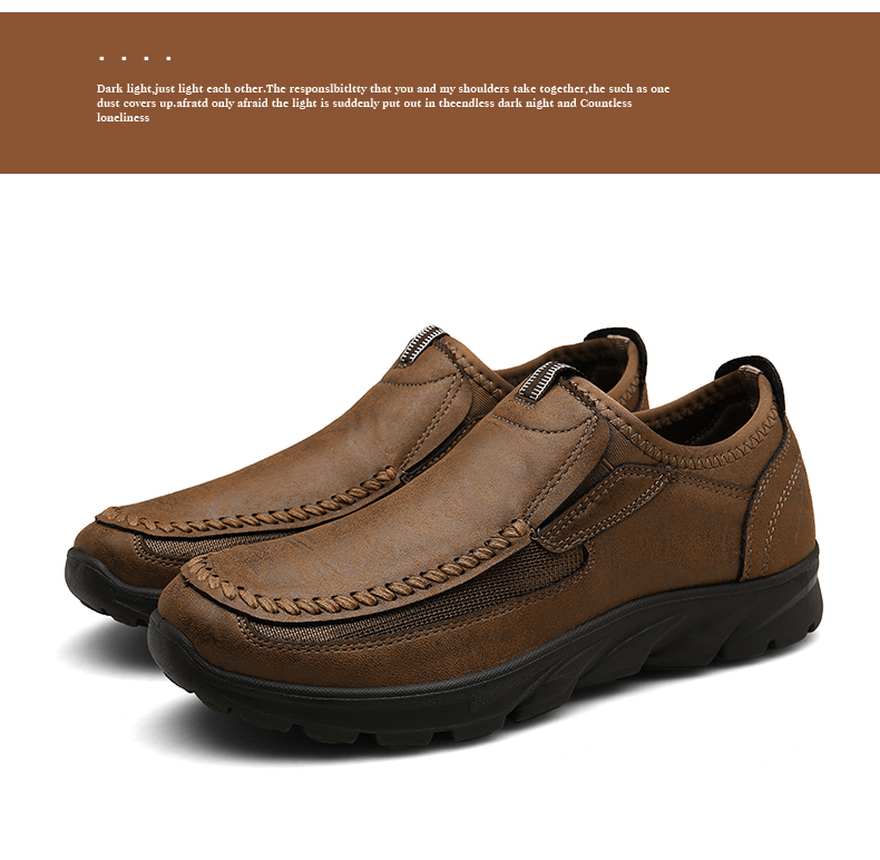 HTB1iVE1alKw3KVjSZTEq6AuRpXaN Men Casual Shoes Loafers Sneakers 2019 New Fashion Handmade Retro Leisure Loafers Shoes Zapatos Casuales Hombres Men Shoes