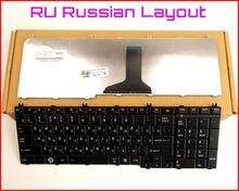 Nuevo teclado ru russian version para toshiba satellite l205 l650 l650d l760 l660 m300 m200 m205 laptop negro