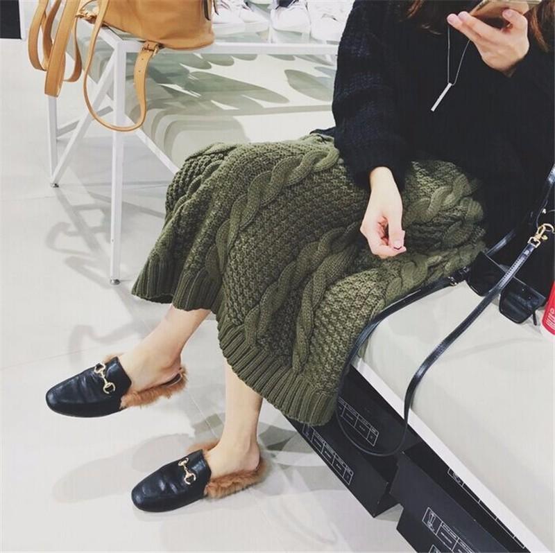 winter thick skirt 05